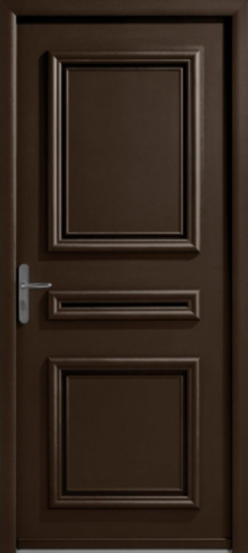 Fen tre facile porte d 39 entr e alu classique mod le myriad for Dormant porte d entree