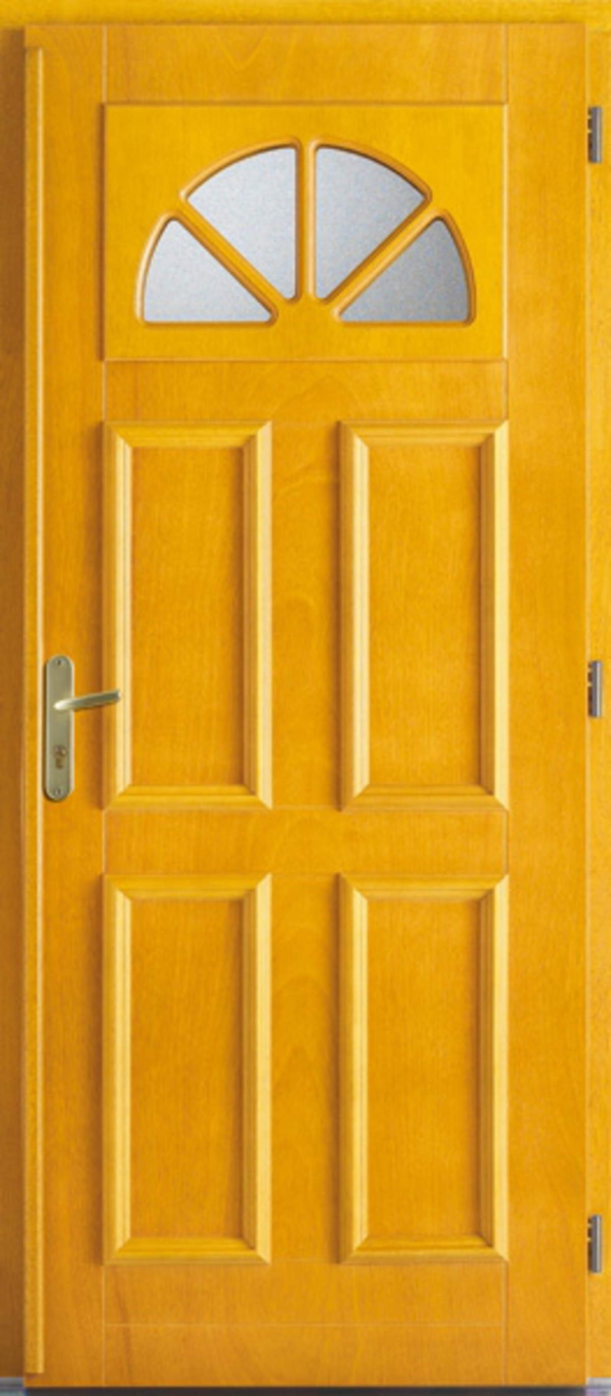 Fen tre facile porte d 39 entr e bois exotique clair for Porte fenetre bois exotique