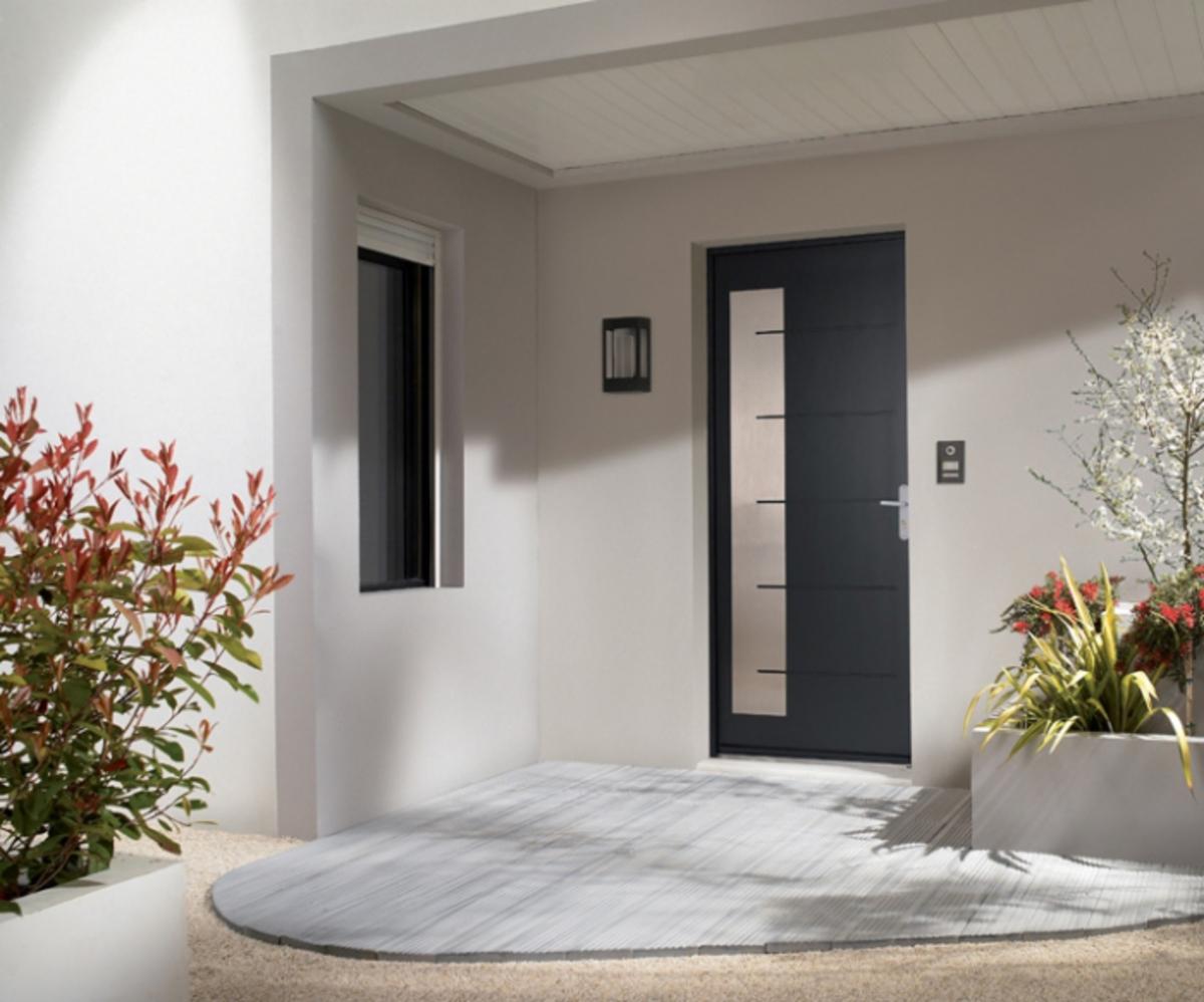 fen tre facile porte d 39 entr e composite mod le equinox laqu e 2 faces identiques. Black Bedroom Furniture Sets. Home Design Ideas