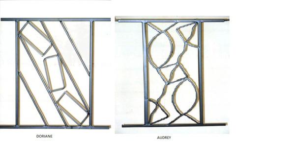 fen tre facile grille de d fense gamme contemporaine. Black Bedroom Furniture Sets. Home Design Ideas
